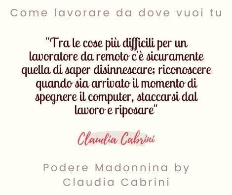 Podere Madonnina - Quote III